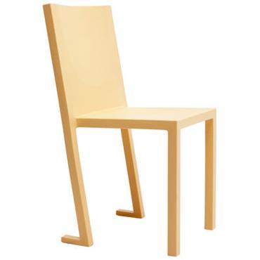 Chaise empilable Diki Lessi / Plastique - TOG Orange en Matière plastique