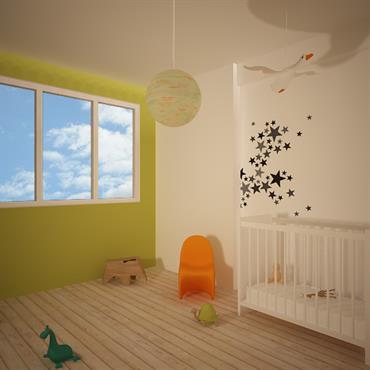 Aménagement de chambres d'enfants  Domozoom