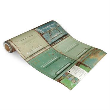 Papier peint Container / 1 rouleau - studio ditte bleu