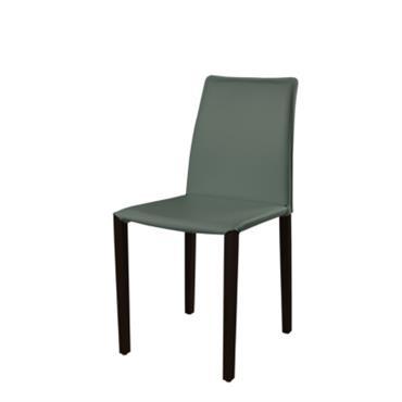 Lot de 2 chaises Olivia Woody Teinté Noir