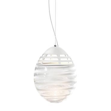 Suspension Incalmo LED / Ø24 x H32 cm - Verre soufflé