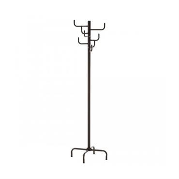 Portemanteau sur pied métal noir H183cm