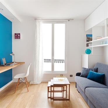 Dans ce projet, j' ai rénové un studio de 15m² dans Paris, dans le VIème arrondissement. Ce logement est situé ... Domozoom