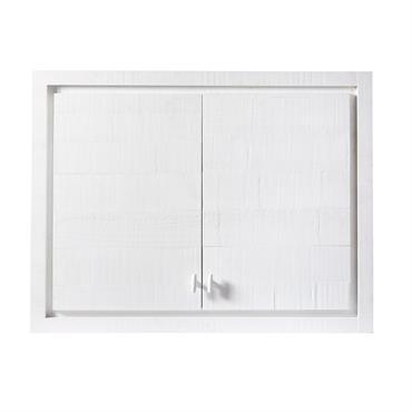 En quête de d'une cuisine épurée et pleine de fraîcheur ? Rien de tel que le meuble haut 2 portes blanc EMBRUN pour offrir une touche marine à votre pièce ...