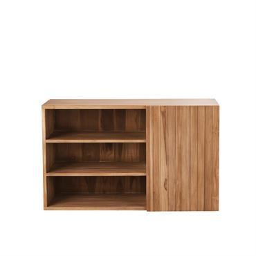 On aime ce meuble de salle de bain à la fois beau et fonctionnel !A l'allure sobre et élégante, il apportera à la fois de la douceur et du caractère ...