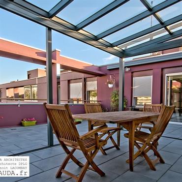 Terrasse d'appartement / solarium  Domozoom