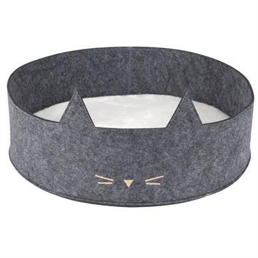 Panier pour chat bicolore D40