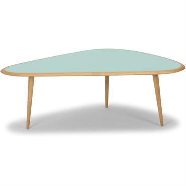 Grande table basse vert menthe Fifties - RED Edition