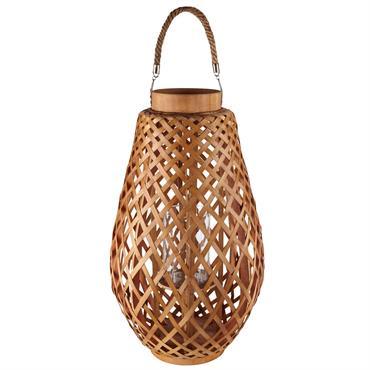 Lanterne en bambou et corde ZANZIBAR