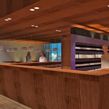 Transformation et aménagement d'un restaurant   Domozoom