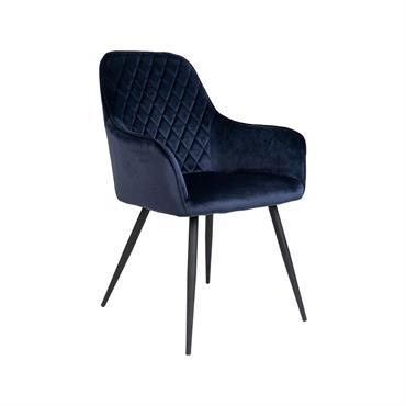 Chaise moderne en velours côtelé COLGA