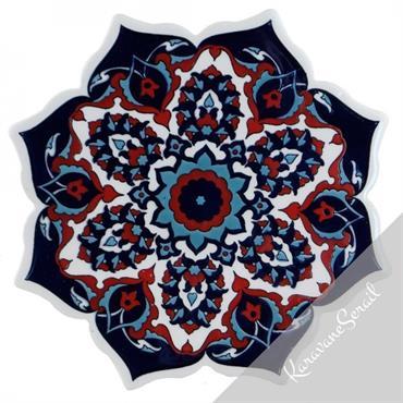 Ces dessous de plat présentes des décors sérigraphiés ou réalisés à la main. Les motifs sont hérités des traditions orientales ... Domozoom