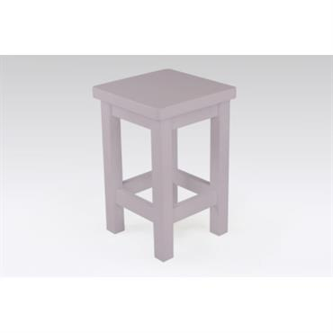 Tabouret droit Pin massif