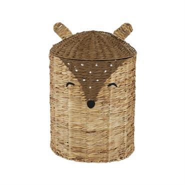 Ne passez pas à côté du panier enfant cerf en fibre végétale marron NINO pour apporter une touche naturelle dans la chambre de votre enfant. Le design original et le ...