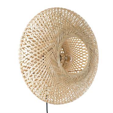 Applique en bambou tressé