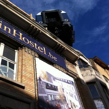 Transformation et aménagement d'un bâtiment en Hôtel Auberge  Domozoom