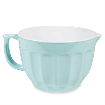 Saladier côtelé bleu clair MINT