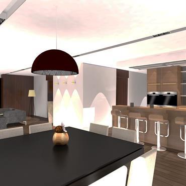 Maison unifamilliale et conception aménagement intérieur  Domozoom