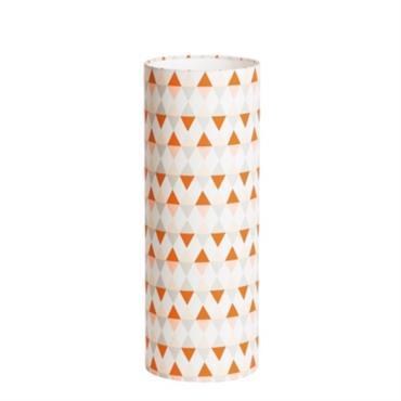 Lampe tube à poser L tissu Tangente