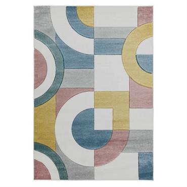 Tapis de salon moderne en Polypropylène Multicolore 160x230 cm
