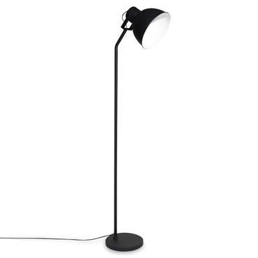 Lampadaire en métal noir H166