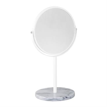 Miroir à poser en marbre Lisa Blanc - Bloomingville