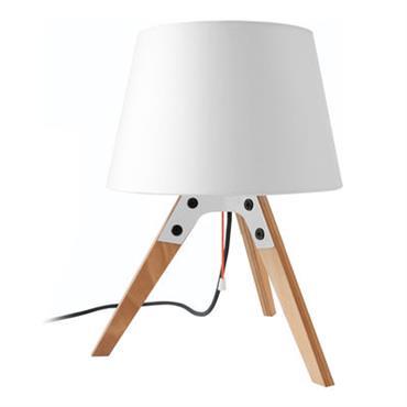 Lampe de table Tischleuchte n2 - Artificial - Pop Corn blanc