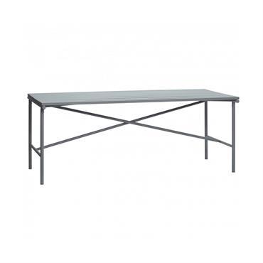 Table de jardin design en métal - Hubsch