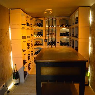 caves à vins idée décoration caves à vins et aménagement - Domozoom