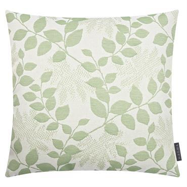 Housses de coussin outdoor motif floral vert Dralon - Lot de 2