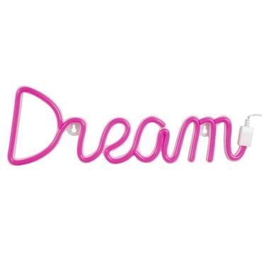Néon mural Dream