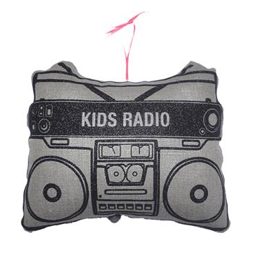Mobile musical Ghetto Blaster Rose - Happy by Pharell Williams