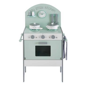 Mini cuisine enfant vert d'eau