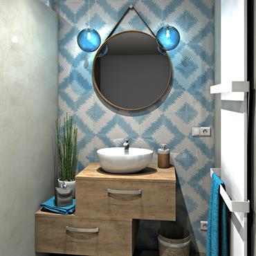 L'espace lavabo