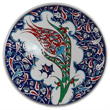 Ces assiettes artisanales sont à voaction décorative ou à usage de vaisselle. Elles sont décorées de motifs traditionnels des céramiques ... Domozoom