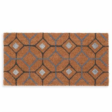 Paillasson motifs carreaux de ciment 30x60