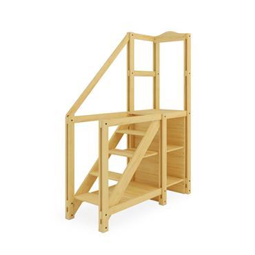Simples ou sophistiqués, nos accès simples ou pour mezzanine s'adaptent à votre style de vie. Ils sont fabriqués en bois ... Domozoom