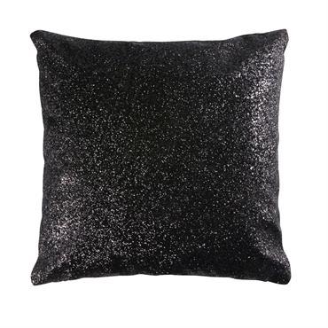 Un souffle glamour s'empare de votre déco avec le coussin à paillettes noires 42x42 UNIVERS . Pour faire pétiller votre intérieur, il vous suffit de le poser au creux d'un ...