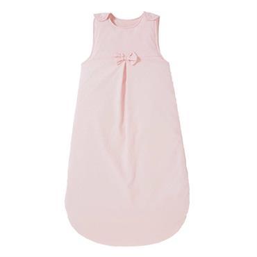 Gigoteuse bébé plumetis en coton rose