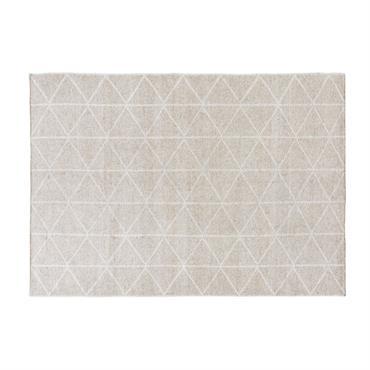 Tapis réversible motifs graphiques 160x230