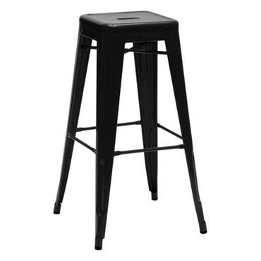 Tabouret de bar H / H 75 cm - Couleur brillante