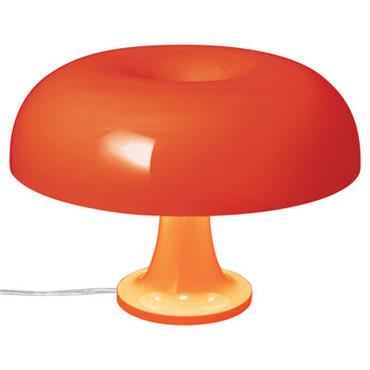 Lampe de table Nessino / Ø 32 cm - Artemide orange opaque