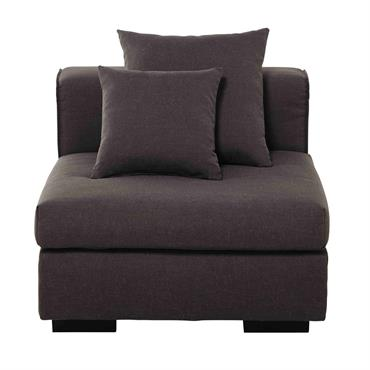 Promotions sur chaise et pouf domozoom - Canape chauffeuse modulable ...