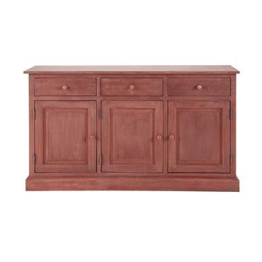 Buffet en bois rouge L 151 cm Pauillac