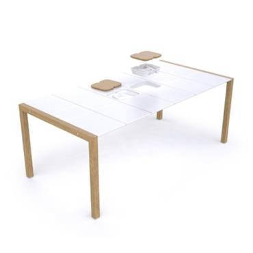 Table extérieure 190x100 Sunday Copenhague GROSFILLEX