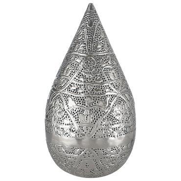 Lampe orientale en métal H 48 cm MEDINA