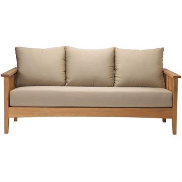 Canapé 3 places en teck