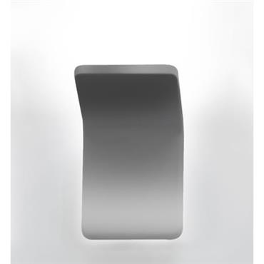 Applique Cuma 10 LED / L 10 cm - Artemide Titanium en Métal