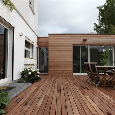 Réaménagement d'une maison individuelle à Chantilly avec Création d'une extension