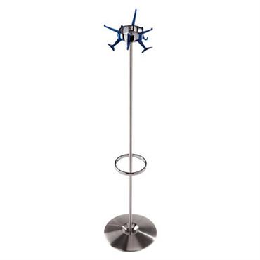 Portemanteau Hanger avec porte-parapluies - Kartell bleu cobalt en métal